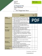 Form Penilaian Proposal TA