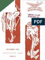 Army Aviation Digest - Nov 1961