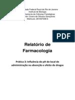 Relatório de Farmacologia Prt3