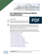 Sfp Modules Compatibility