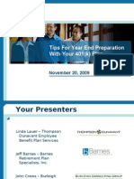 Plan Efficiency Webinar With Crews Nov 09