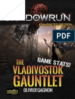 The Vladivostok Gauntlet Game Stats