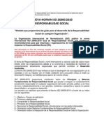 Nueva Norma ISO 26000