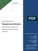 Como Recuperar Datos
