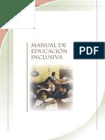 Manual Educa c i on Inclusiv A