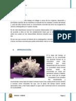Historia de La Cristalografía