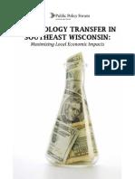 Tech Transfer Report
