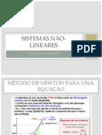 Sistemas Não Lineares
