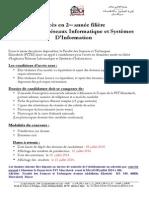 Admission Parallel e Iris i 2014