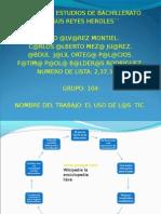EL USO DE LAS TIC2.