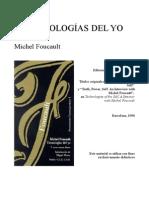 Michel Foucault - Tecnologías Del Yo