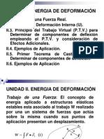 UNIDAD II.energia de Deformacion