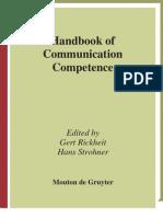 Handbook of Communication