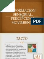 Informacion Sensorial, Percepcion y Movimiento