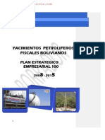 YPFB Plan Estrategico