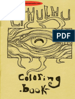 Call of Cthulhu Cthulhu Coloring Book