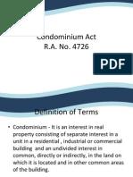 Condominium Act