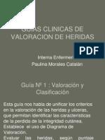 Guias Clinicas de Valoracion de Heridas
