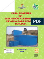 TIPS de Cloracion y Desinfeccion Final Huanuco