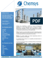 Chemsys Training Brochure