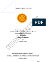 Student Help Center -  Project Report