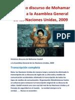 Histórico discurso de Mohamar Gadafi a la Asamblea General de las Naciones Unidas.docx