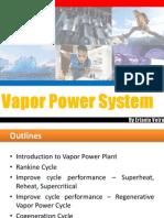 07-Vapor Power Cycles
