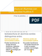 lectoescrituraenalumnoscondiscapacidadauditivaii-120527053603-phpapp01