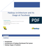 Hadoop Facebook