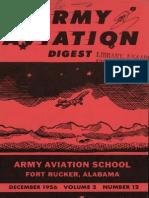 Army Aviation Digest - Dec 1956