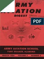 Army Aviation Digest - Mar 1956