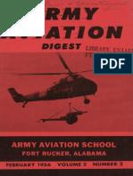 Army Aviation Digest - Feb 1956