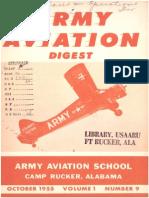 Army Aviation Digest - Oct 1955