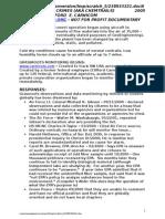 NOTES-DOCUMENTARY-AEROSOL CRIMES 2005
