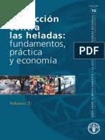 Protección Contra Las Heladas _ Fundamentos, Práctica y Economía