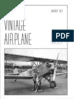 Vintage Airplane - Jan 1973