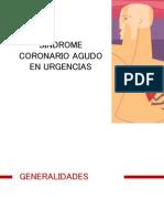 Sindrome Coronario Agudo en Urgencias