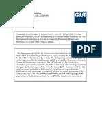 Comarison Between Aci 440 and Fib 14 Design Guidelines