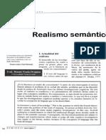 Francois Rastier - Realialismo Semantico y Realismo Estético