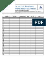 Formato Socialización Sobre Emprendimiento en Neiva