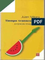 90574053 Villoro Juan Tiempo Transcurrido