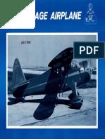 Vintage Airplane - Jul 1974