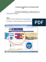 Instructivo Para Realizar El Registro a Las Pruebas Saber Pro 2014 (1)