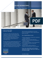 Colliers Law Firm Services Brochure