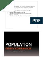 Population Assessment lesson slides
