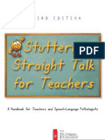 Stuttering - Straight Talk for Teachers