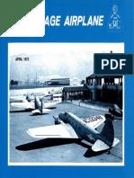 Vintage Airplane - Apr 1975