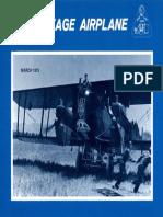Vintage Airplane - Mar 1975