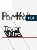 Design Portfolio - Taylor Wall