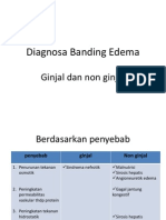Diagnosa Banding Edema